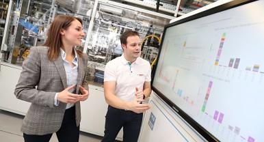 No caminho para a produção com zero defeito por meio da IA da Bosch