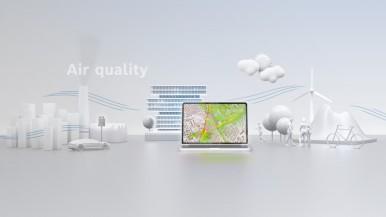 Bosch e Grupo PTV: aliança para melhorar a qualidade do ar