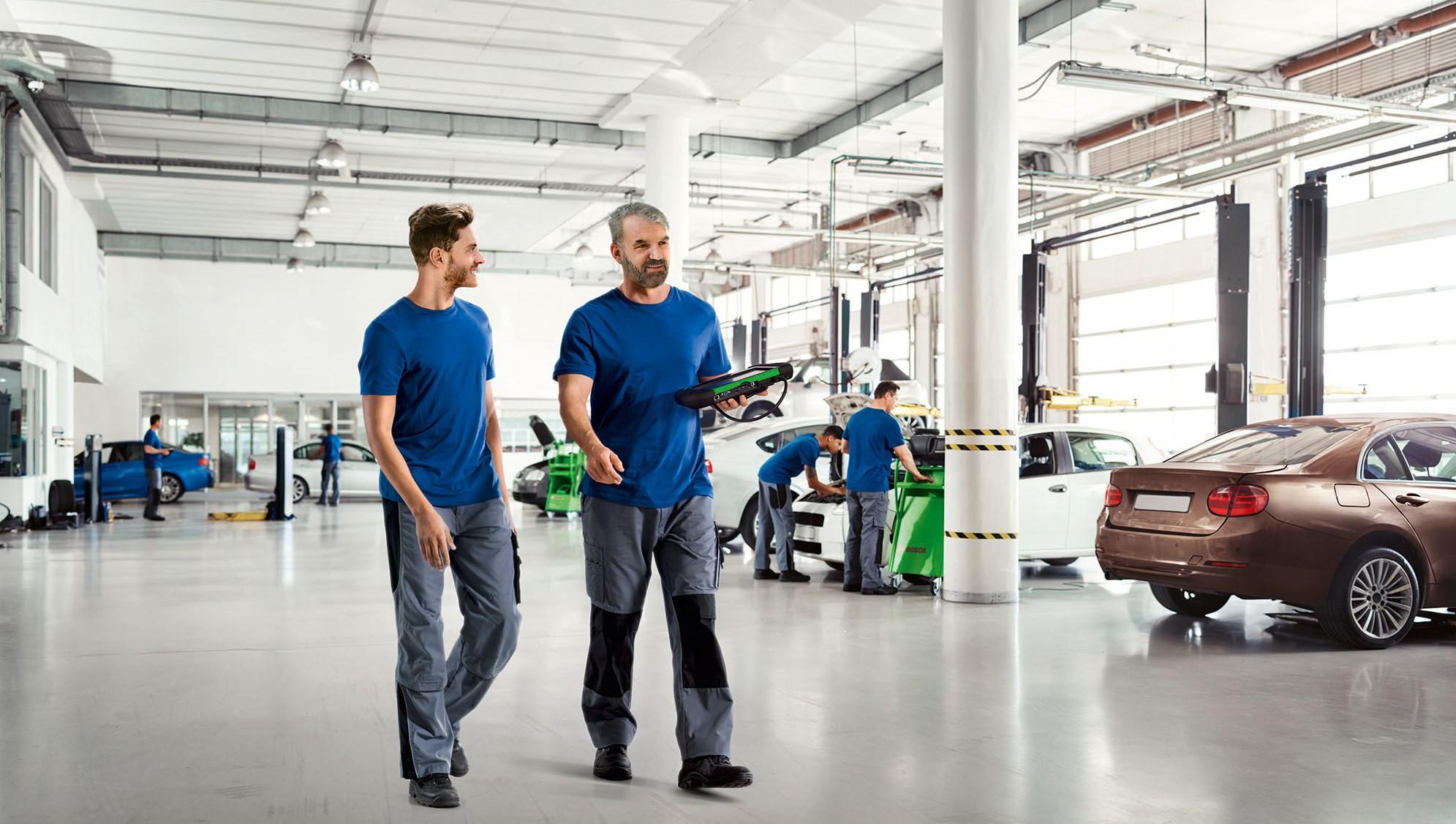 Nova função do KTS 250 da Bosch fornece dados sobre a quilometragem real do veículo