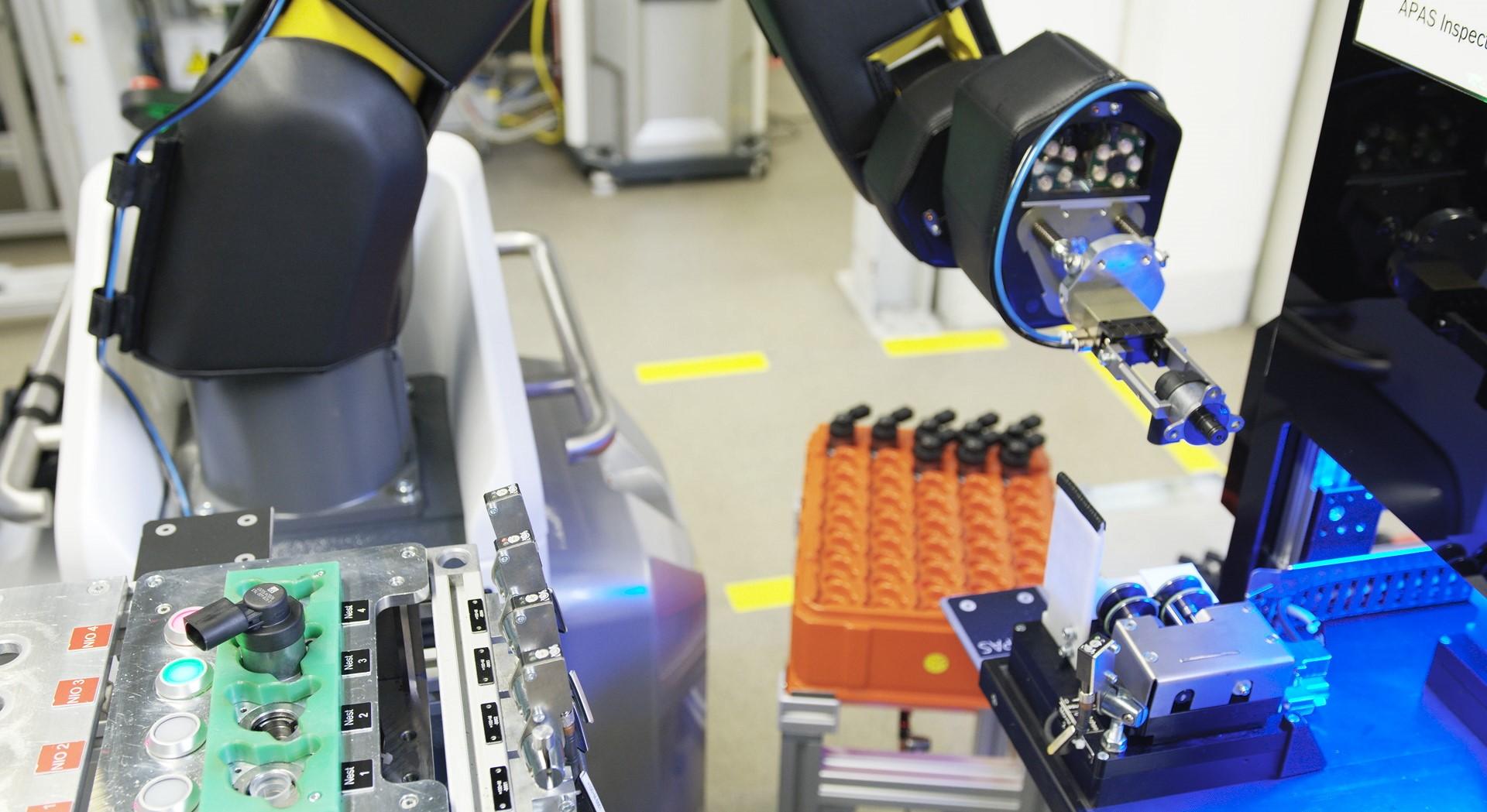 Assistente de produção automática APAS
