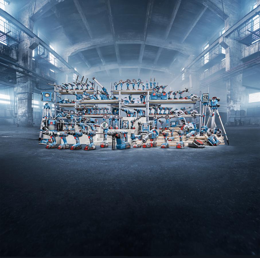 Ferramentas a bateria – sistemas de tecnologia avançada da Bosch impulsionam a produtividade