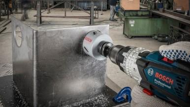 Bosch lança linha de serra copo com cobalto
