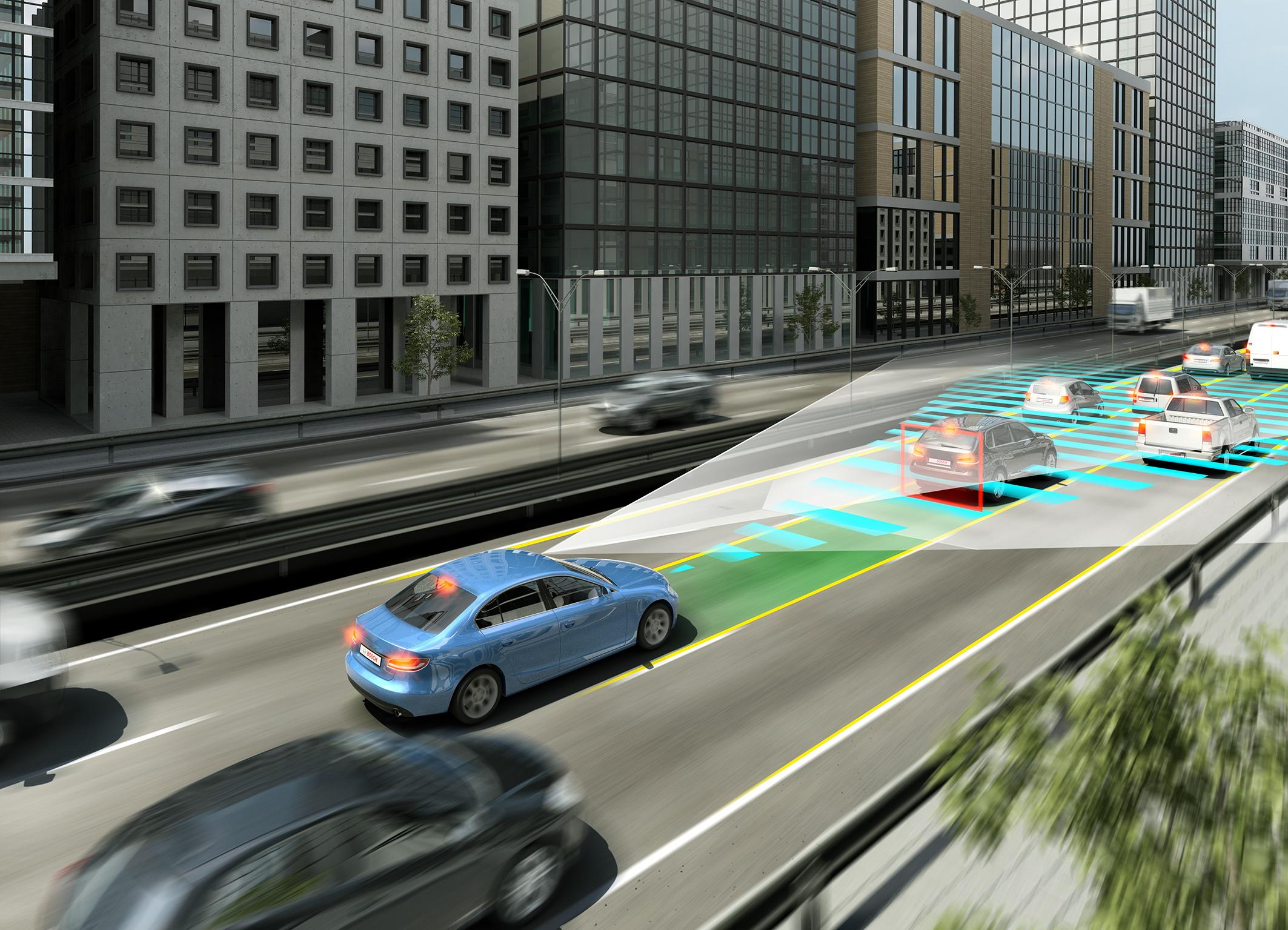 Soluções para mobilidade do tráfego do futuro - condução autônoma
