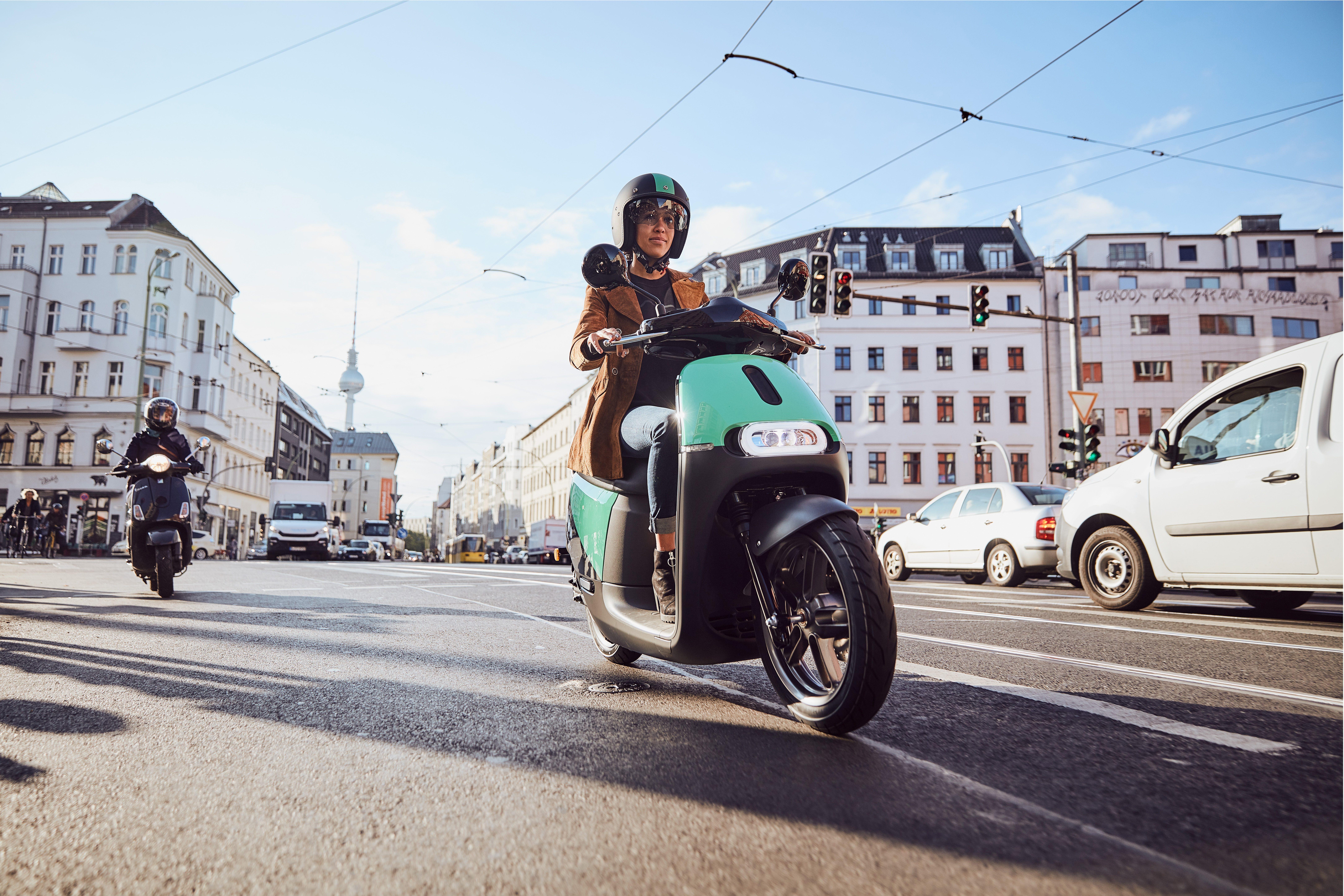 COUP - serviço de compartilhamento de scooter