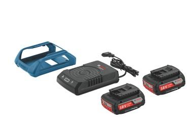 Bateria wireless compatível com todas as ferramentas de 18V da Bosch