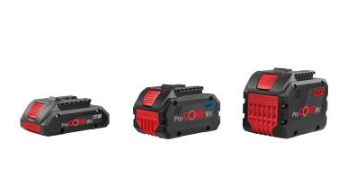 Tecnologia inovadora – Bosch lança baterias ProCore18V