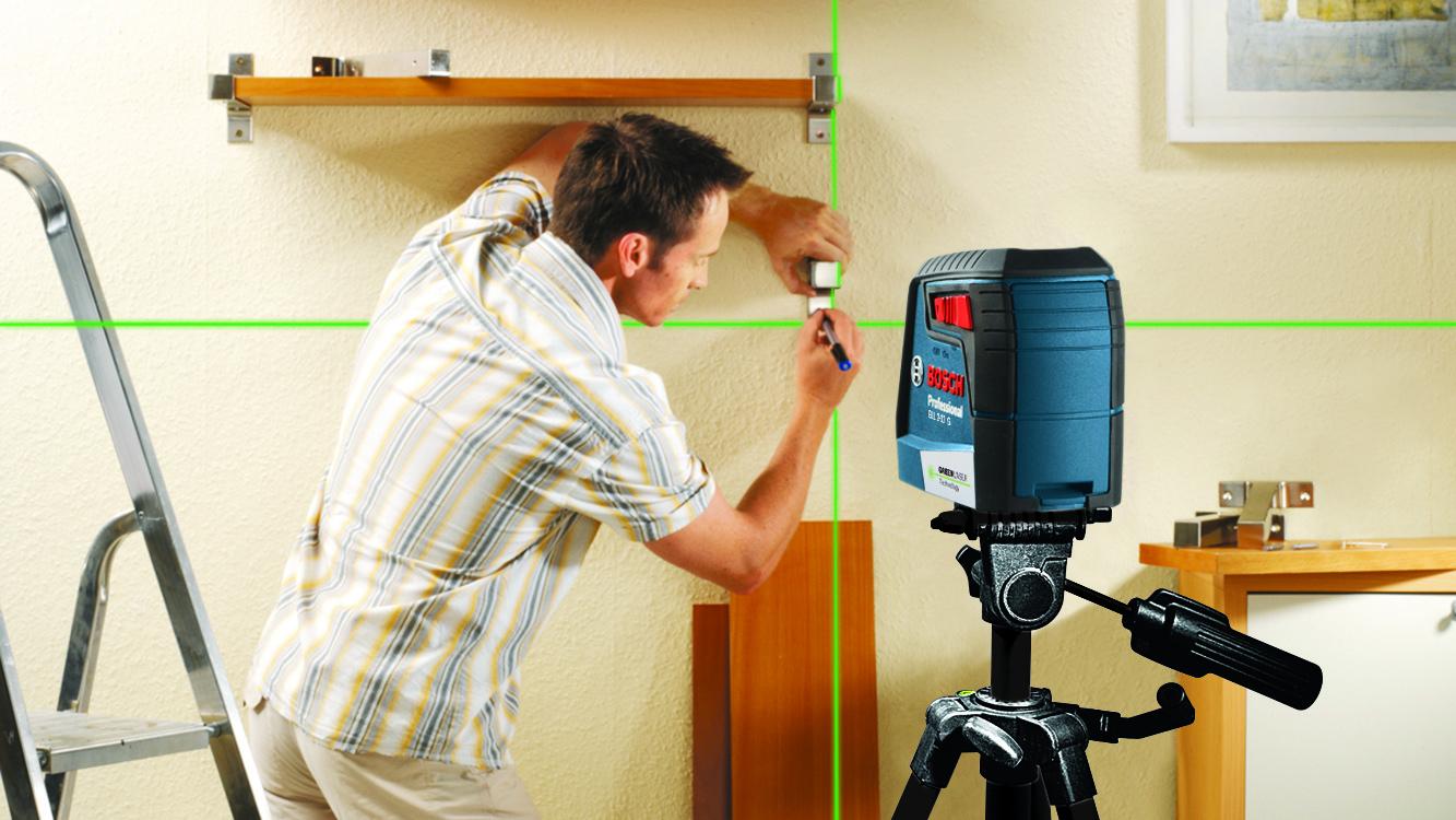 Bosch amplia linha de niveladores a laser verde