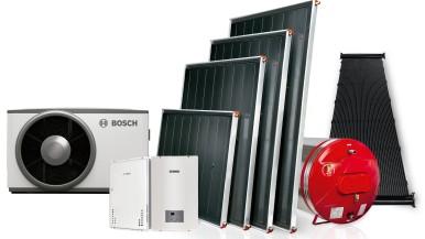 Bosch apresenta soluções em aquecimento solar