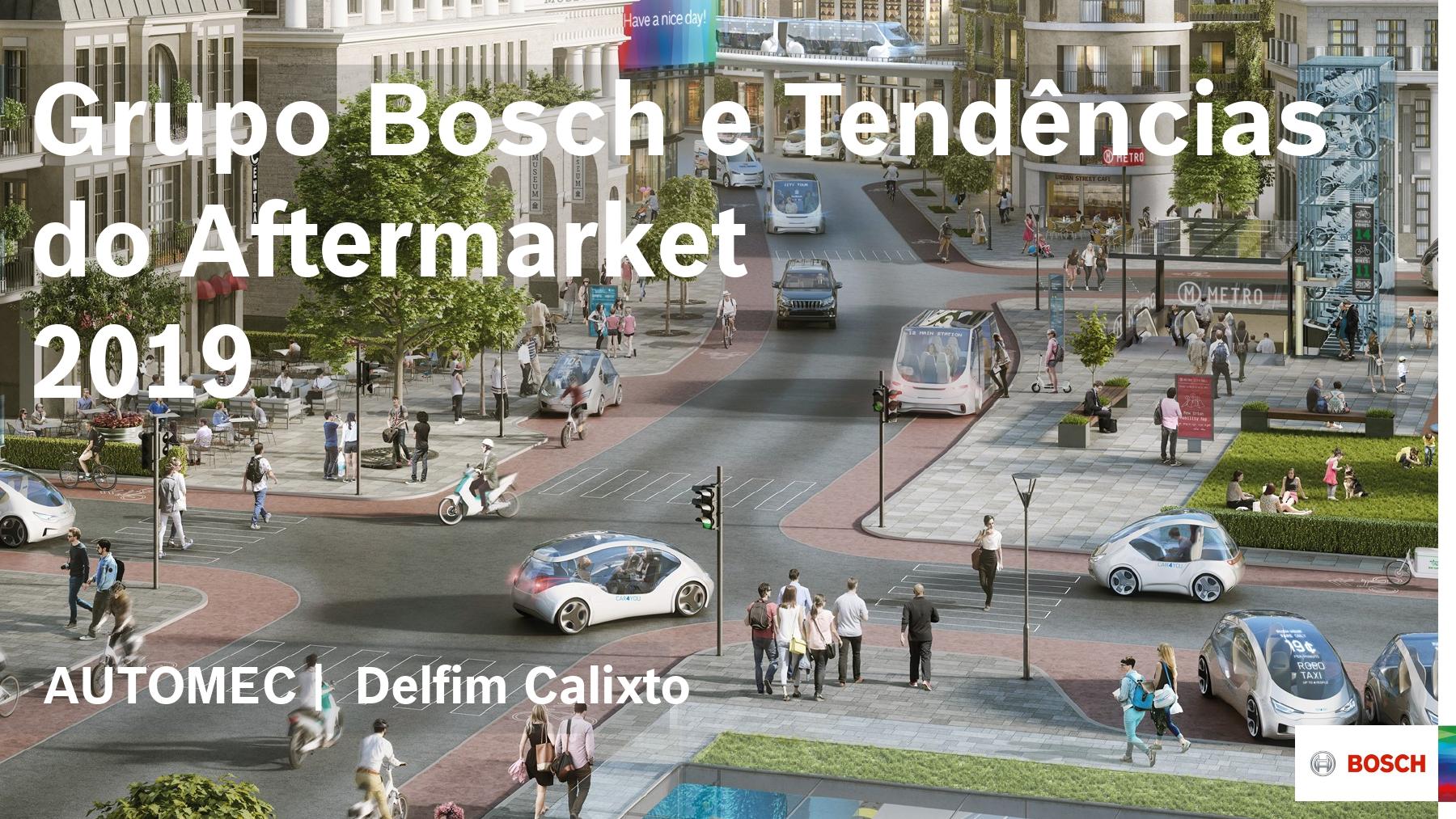 Grupo Bosch e Tendências do Aftermarket 2019