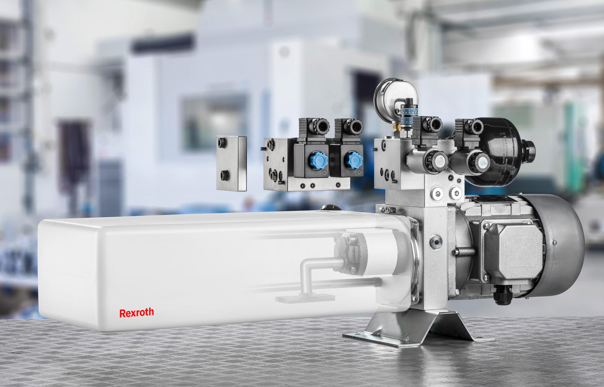 Unidade hidráulica compacta Rexroth