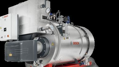 Setor industrial – Bosch lança solução para geração de vapor