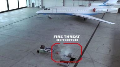 Aviotec recebe prêmio internacional de detecção de incêndio