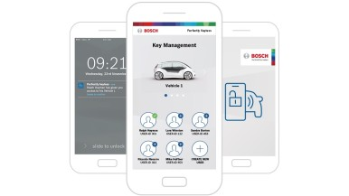 Sistema da Bosch transforma smartphone nas chaves do carro