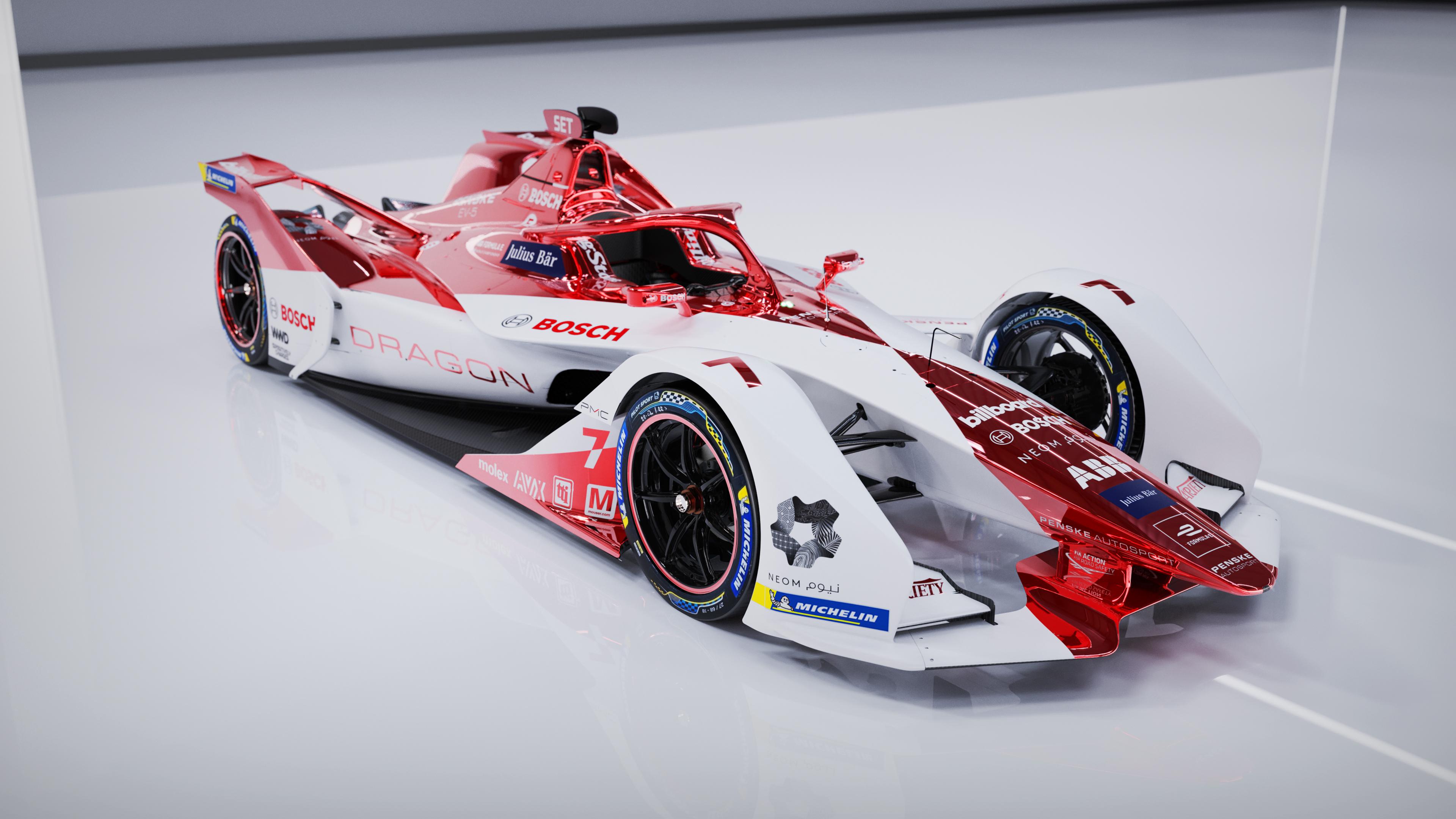 Motoršport pod prúdom: Bosch a DRAGON / PENSKE AUTOSPORT sa dohodli na dlhodobom partnerstve vo Formule E