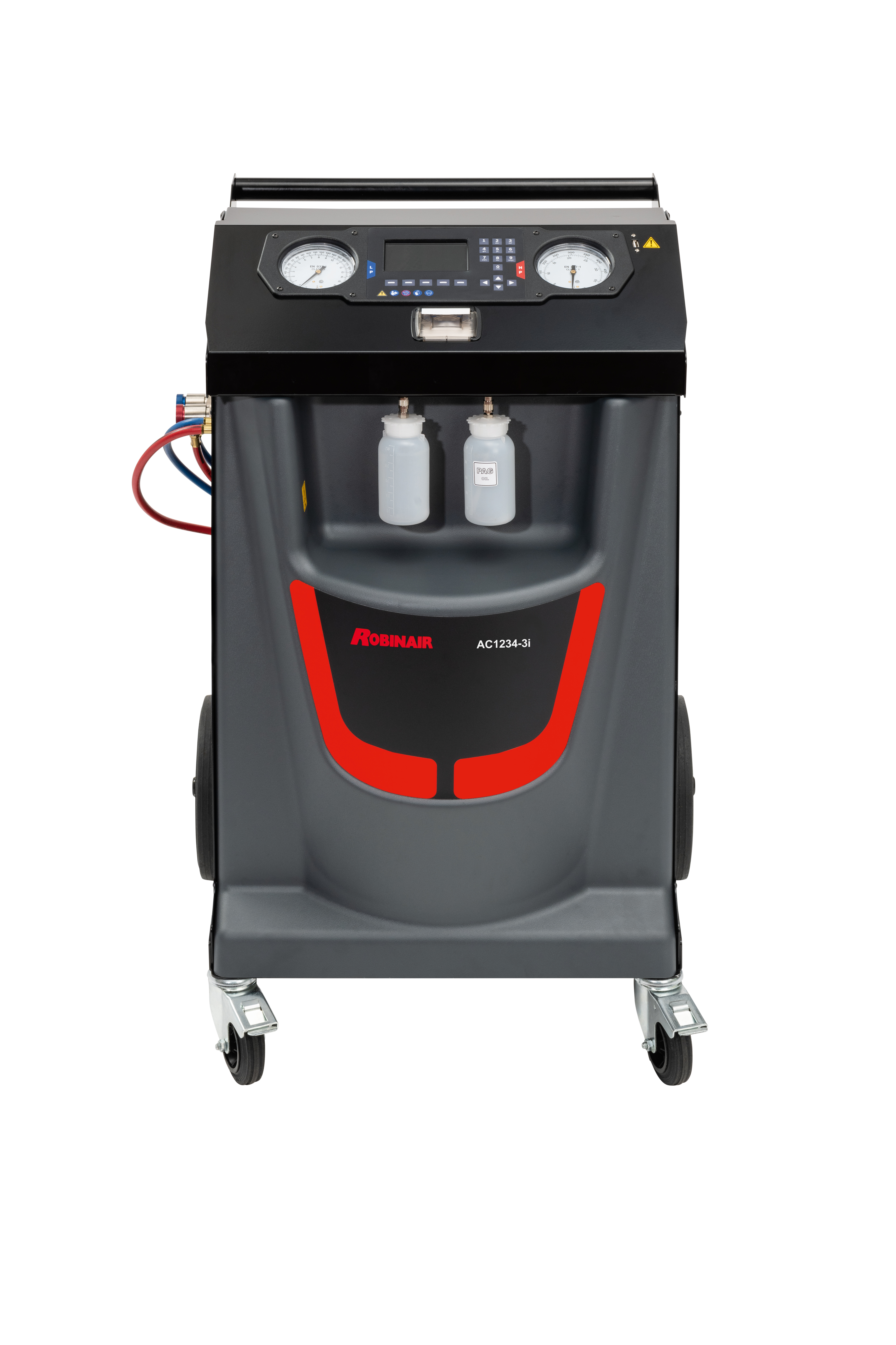 Nová zařízení pro servis klimatizací ACS 563 a ACS 553 od společnosti Bosch