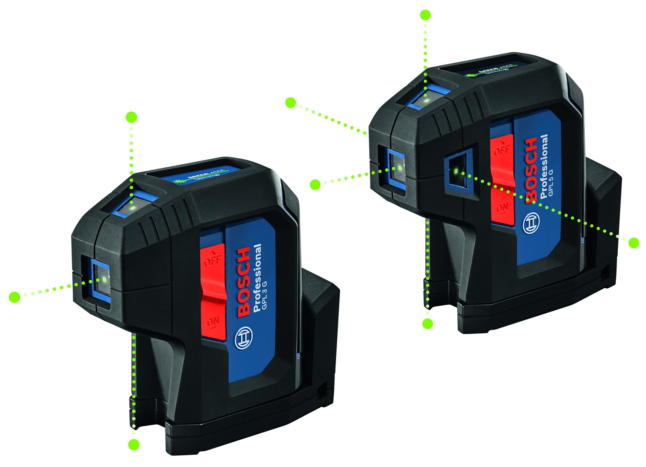 Robustnejšie než kedykoľvek predtým pre použitie na stavbe: Nová generácia bodových laserov Bosch pre profesionálov