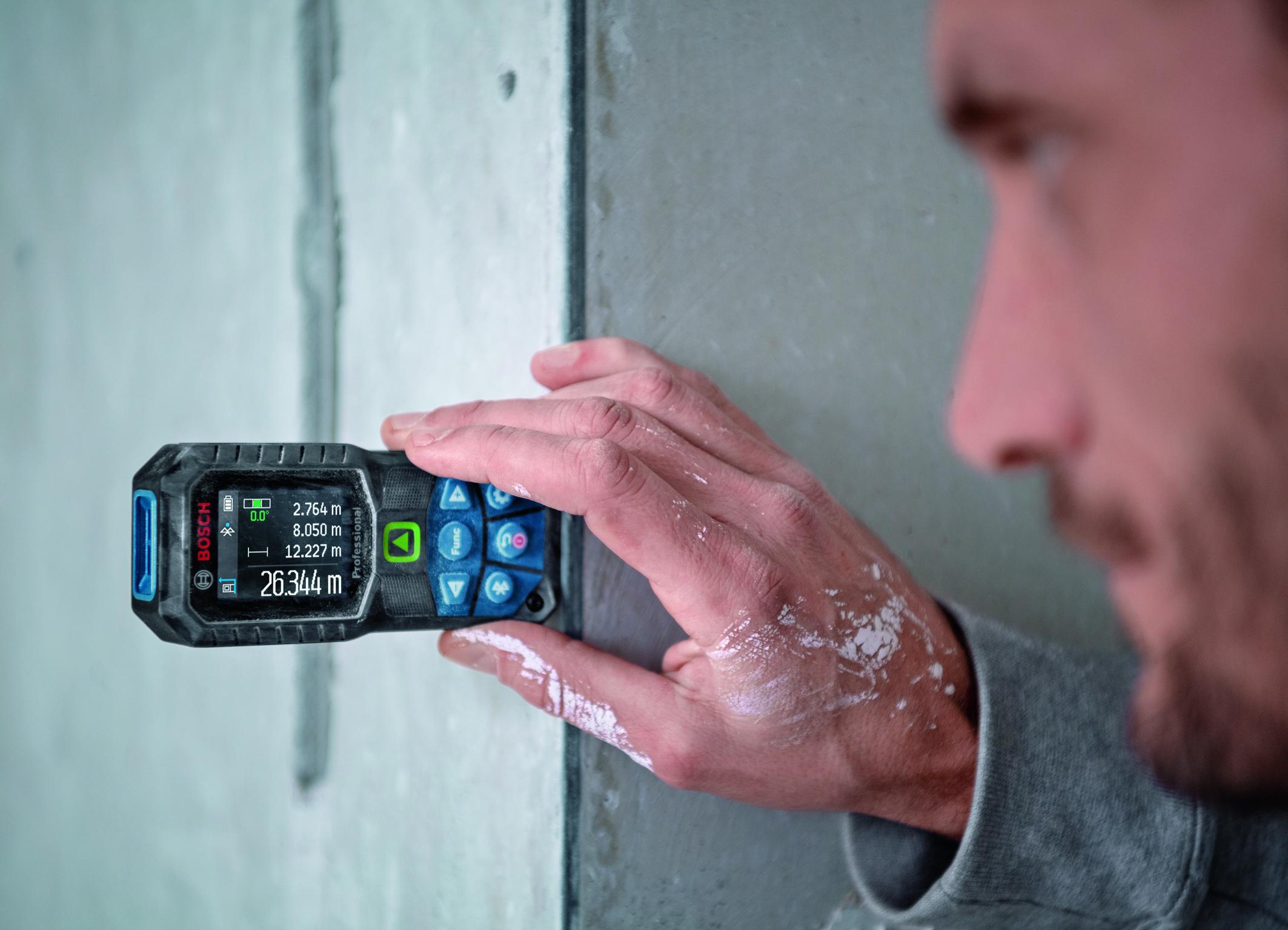 Lepšia manipulácia než kedykoľvek predtým: Robustné laserové diaľkomery od spoločnosti Bosch pre profesionálov