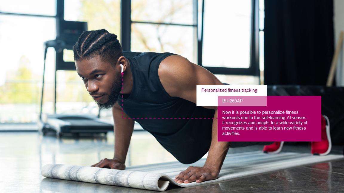 Sledování neomezeného počtu fitness cvičení