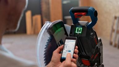 Nová dimenzia výkonu: Kápovacia a pokosová píla BITURBO od spoločnosti Bosch pre ...