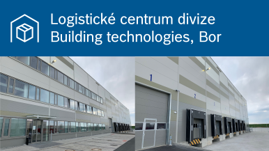 Bosch otevřel v Boru u Tachova nové logistické centrum divize Building technologies.