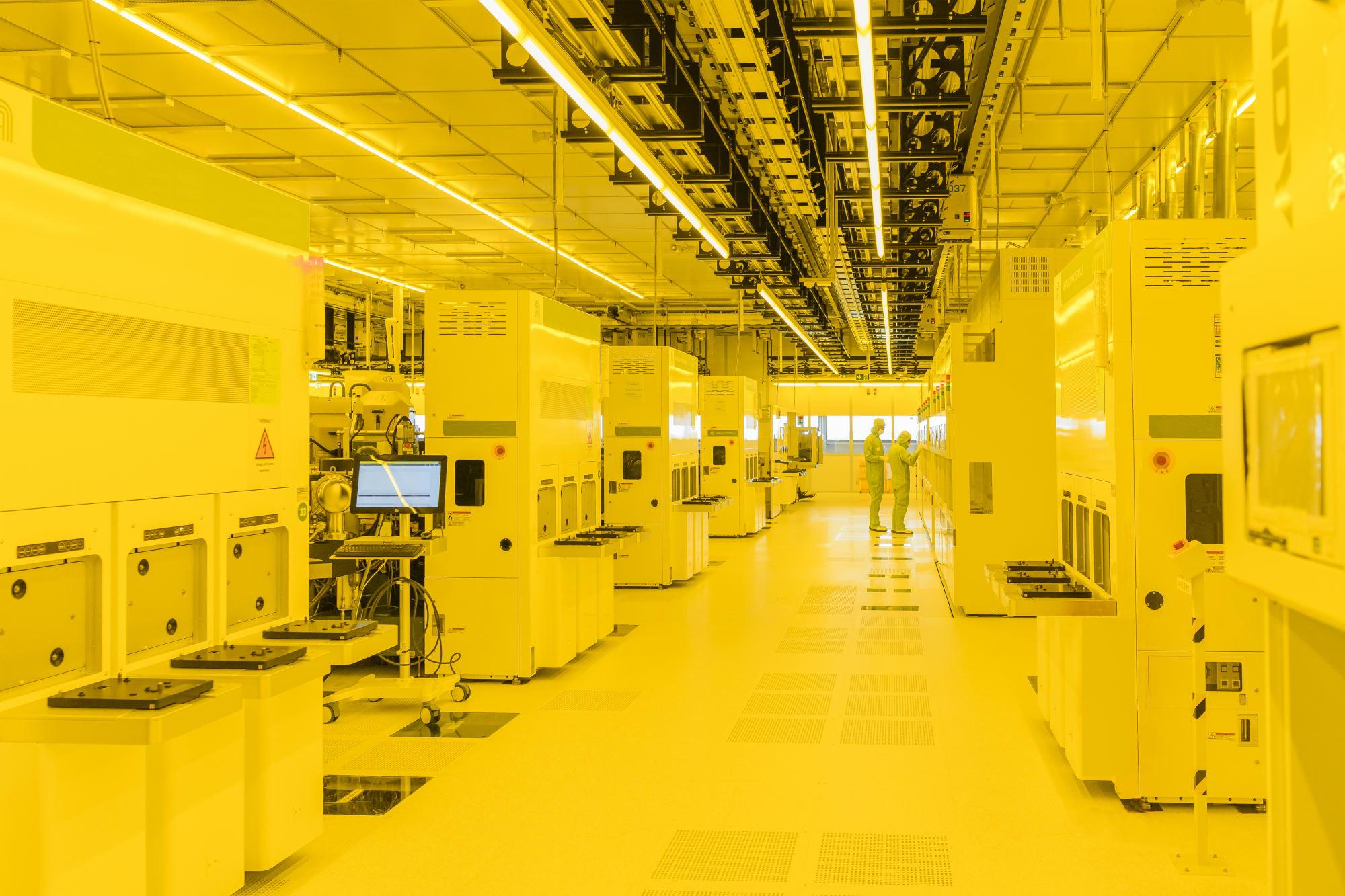 Výroba polovodičů Bosch v Drážďanech