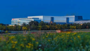Závod na výrobu 300 milimetrových waferů Drážďany