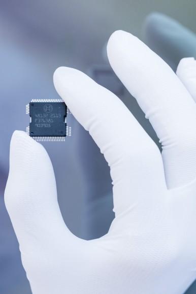 Výroba plně automobilových mikročipů bude hlavním zaměřením.