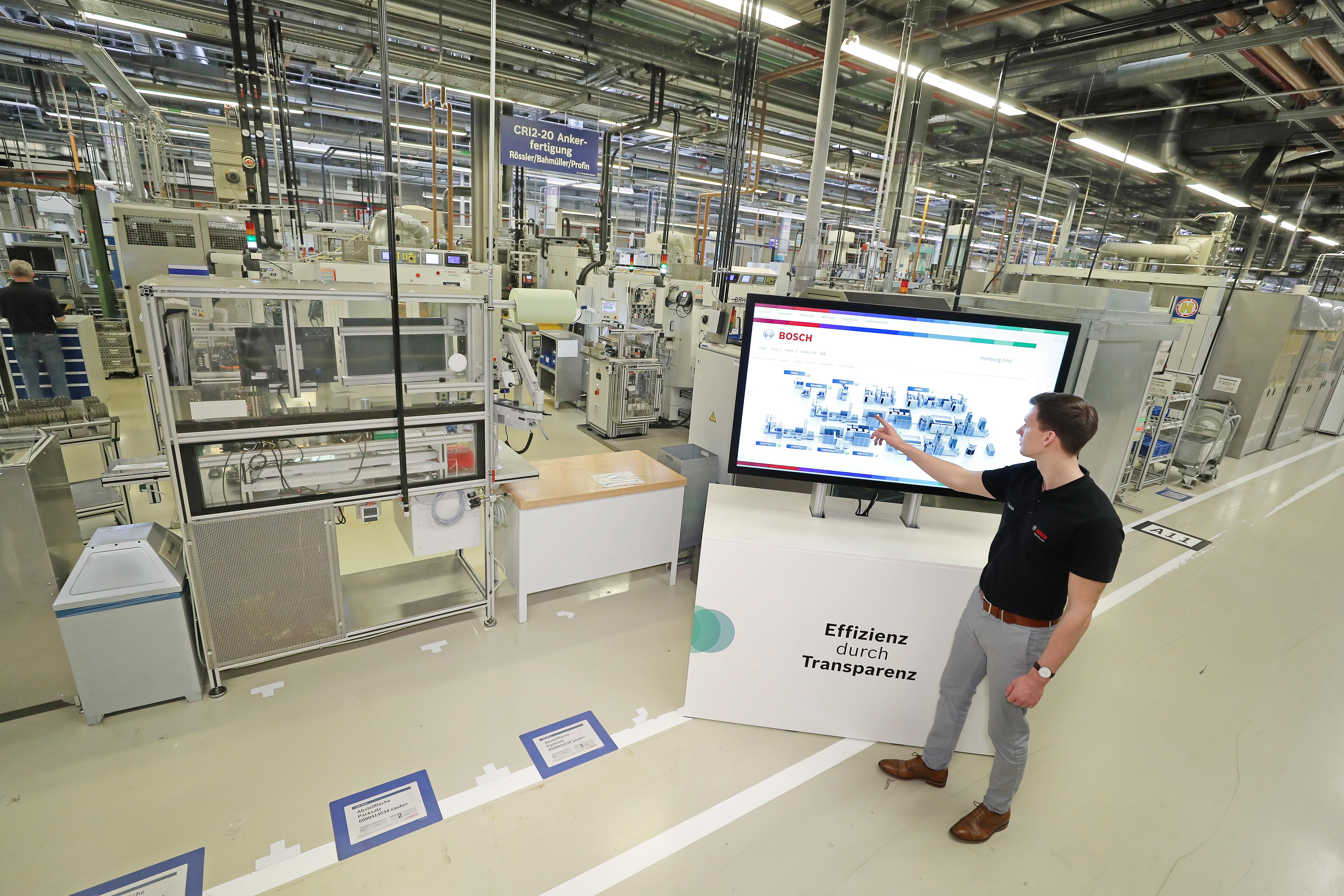 Průkopnická role společnosti Bosch v Průmyslu 4.0 pomáhá zajistit, aby její globální výrobní operace byly uhlíkově neutrální