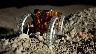 Inteligentní navigace a bezdrátové nabíjení pro miniroboty na Měsíci
