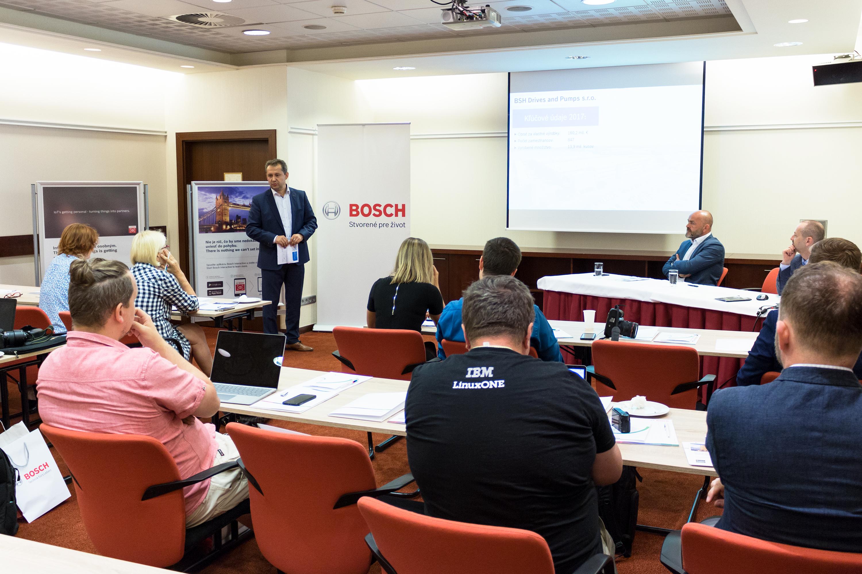 Ján Schumera, technologický riaditeľ BSH Drives and Pumps s.r.o., na výročnej tlačovej konferencii
