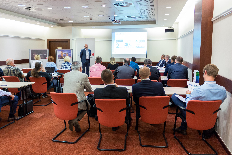 Generálny manažér Bosch Group v Slovenskej republike Milan Šlachta na výročnej tlačovej konferencii