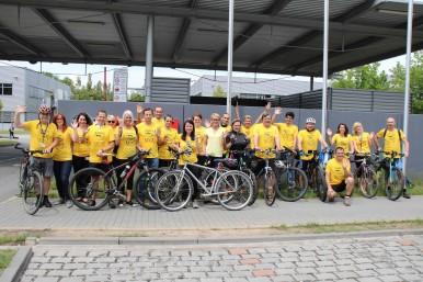 Do práce na kole 2018: cyklotýmy zaměstnanců Bosch Diesel s.r.o.