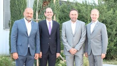 Českobudějovický Bosch navštívil německý velvyslanec