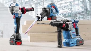Najkompaktnejšie vysokovýkonné akumulátory na trhu: Nový rad Bosch ProCORE18V pre profesionálov