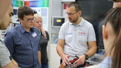 """Bosch Diesel s.r.o. Jihlava pozval vysokoškolské studenty na tradiční """"High-Tech Day"""""""