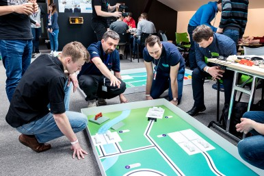 Celou akci mentorují zkušení odborníci z řad zaměstnanců Bosch.