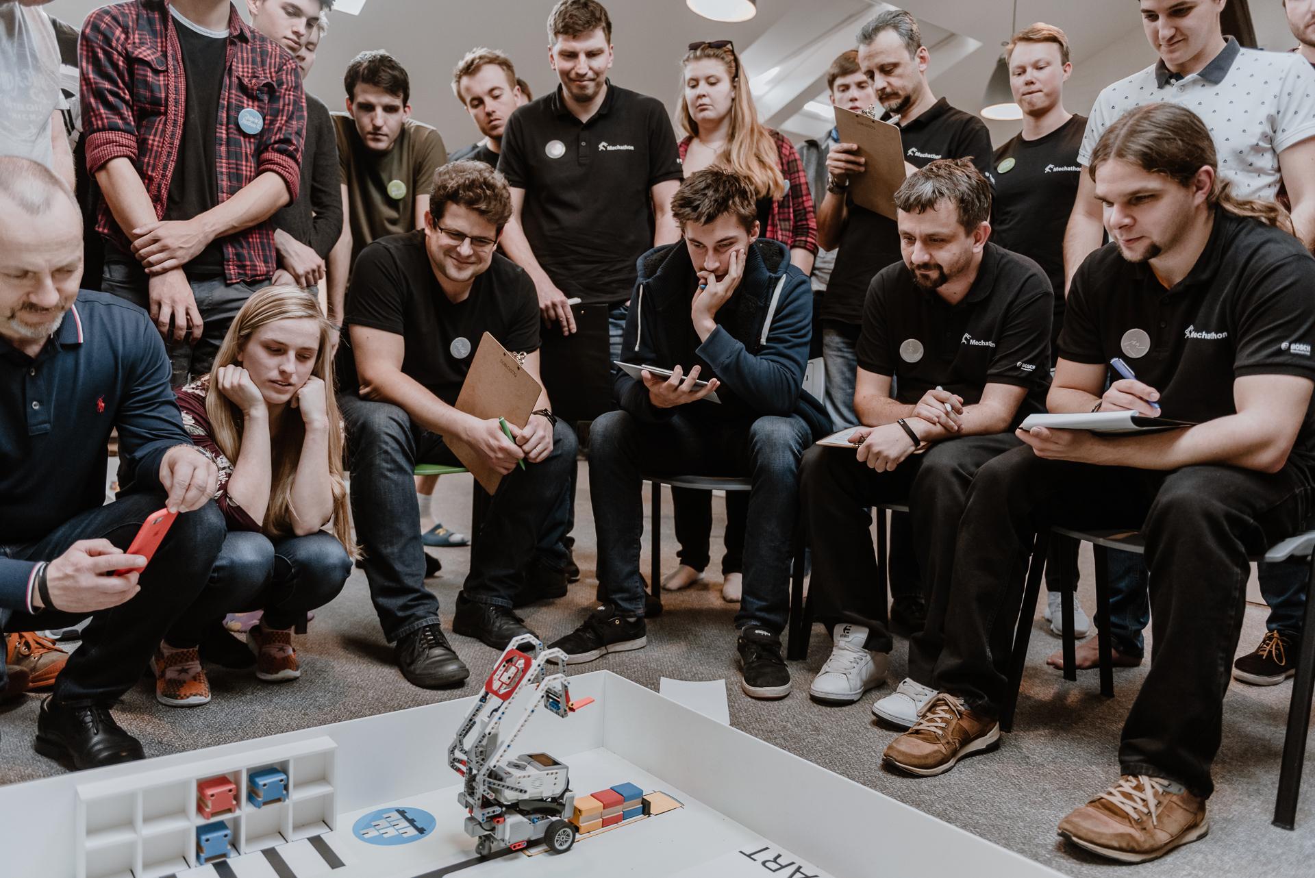 Celou akci mentorovali zkušení odborníci z řad zaměstnanců Bosch.