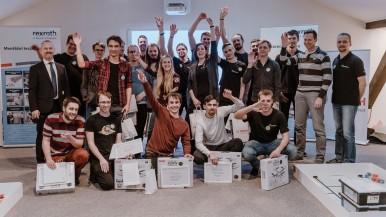 Padesát studentů se zúčastnilo druhého ročníku Mechathonu pořádaného společností Bosch