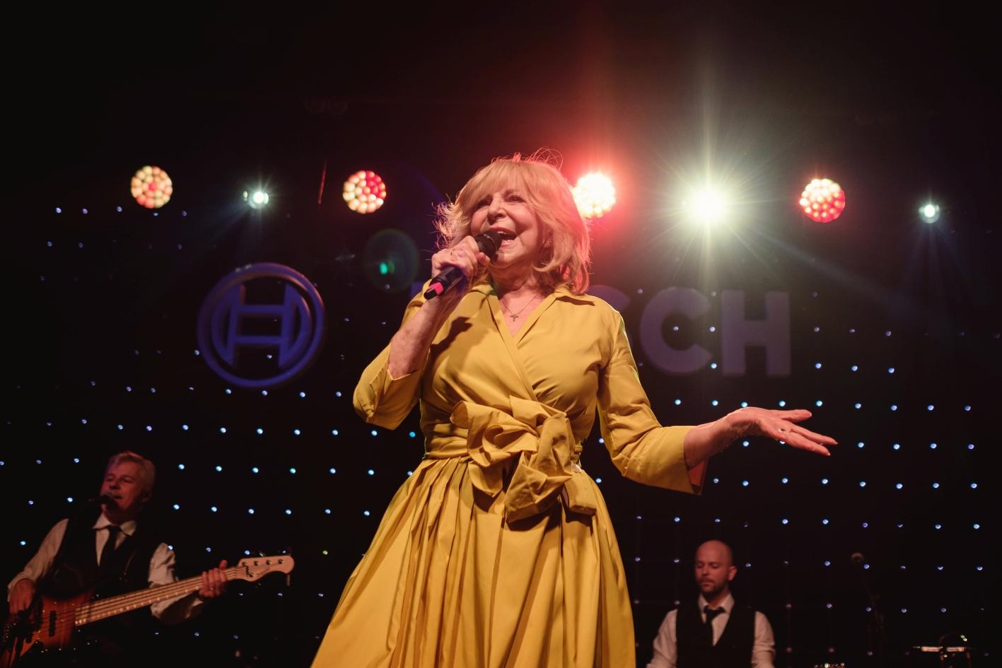 Hvězdou večera byla slavná česká zpěvačka Hana Zagorová