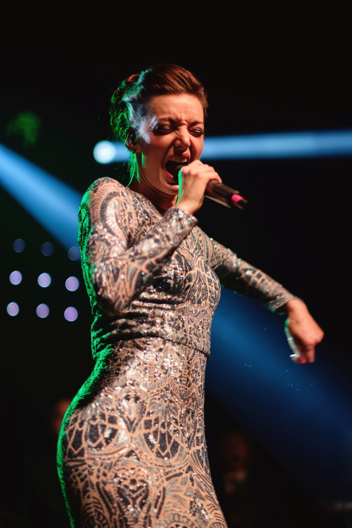 Úspěšná popová zpěvačka Dasha se postarala o další část bohatého kulturního programu