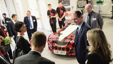 Velvyslanec Spolkové republiky Německo Christoph Israng navštívil firmu Bosch Diesel s.r.o. v Jihlavě