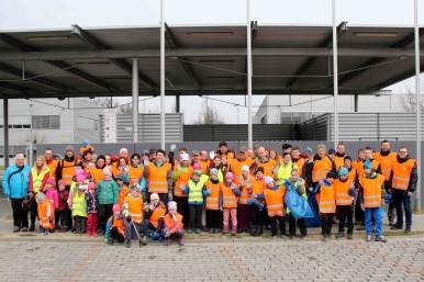 Zaměstnanci a jejich děti pomáhají zachovat čisté prostředí Vysočiny