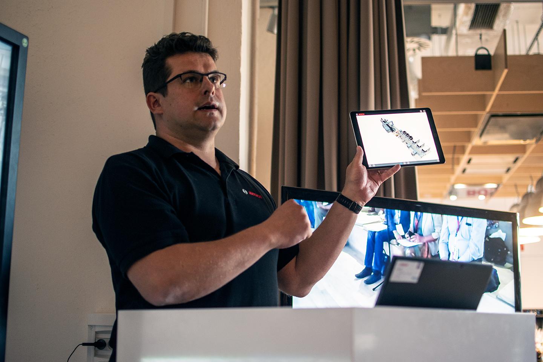 Průmysl 4.0: 3D vizualizace ve výrobě závodu Bosch Diesel s.r.o. Jihlava