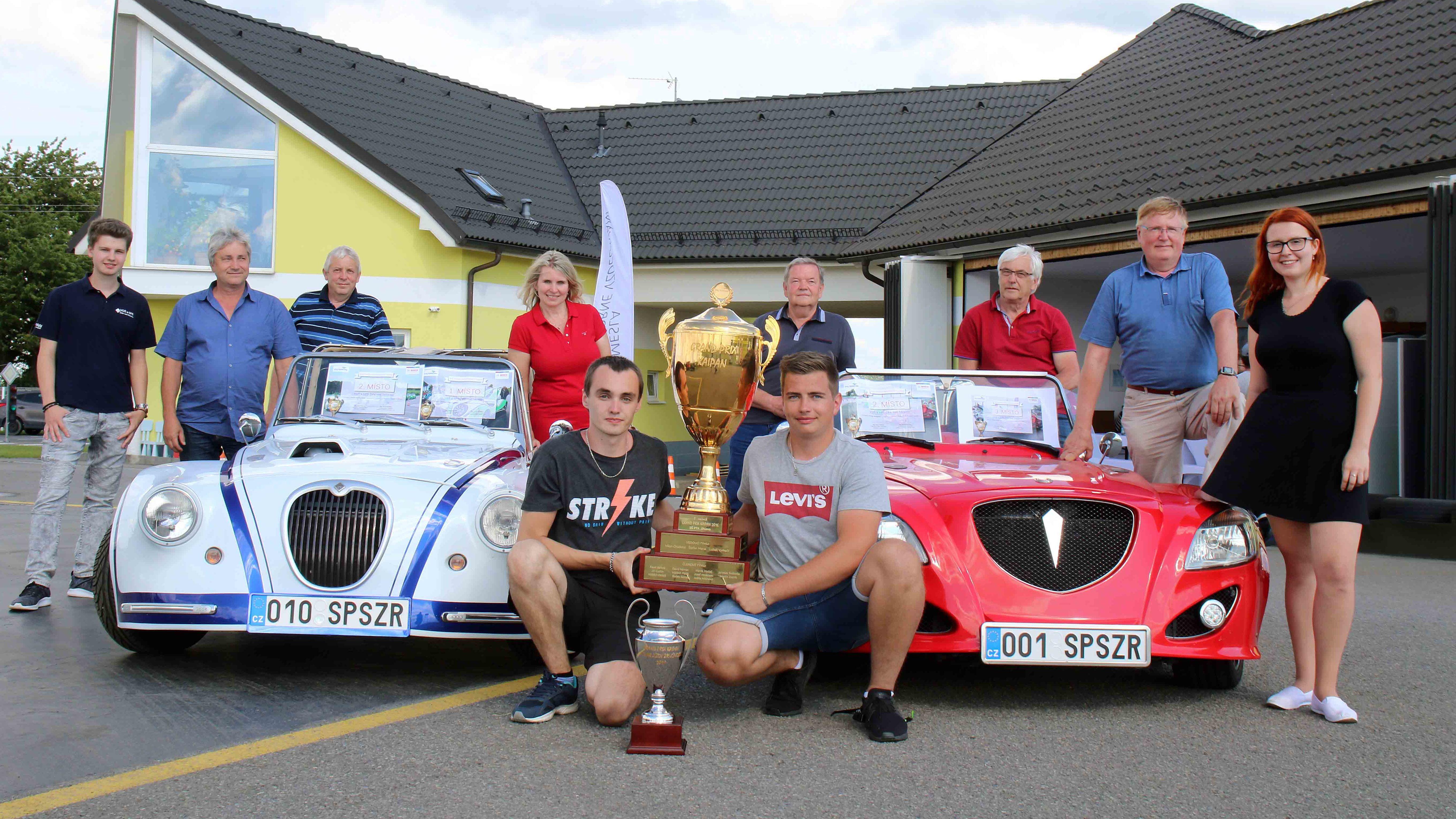 Vítězem Zlatého poháru se stala VOŠ a SPŠ Žďár nad Sázavou.
