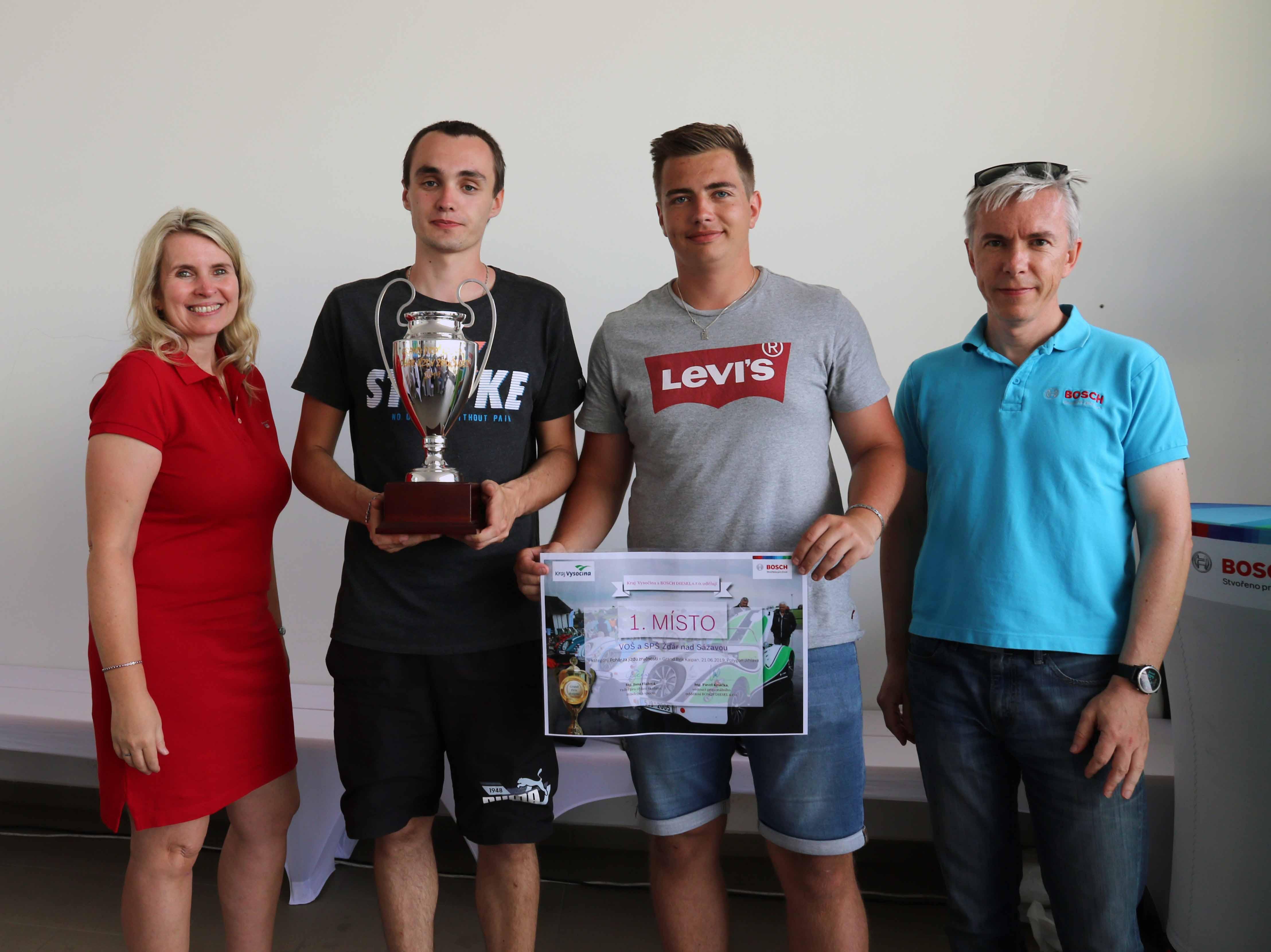 Vítězem Poháru jízdy zručnosti se stala VOŠ a SPŠ Ždár nad Sázavou.