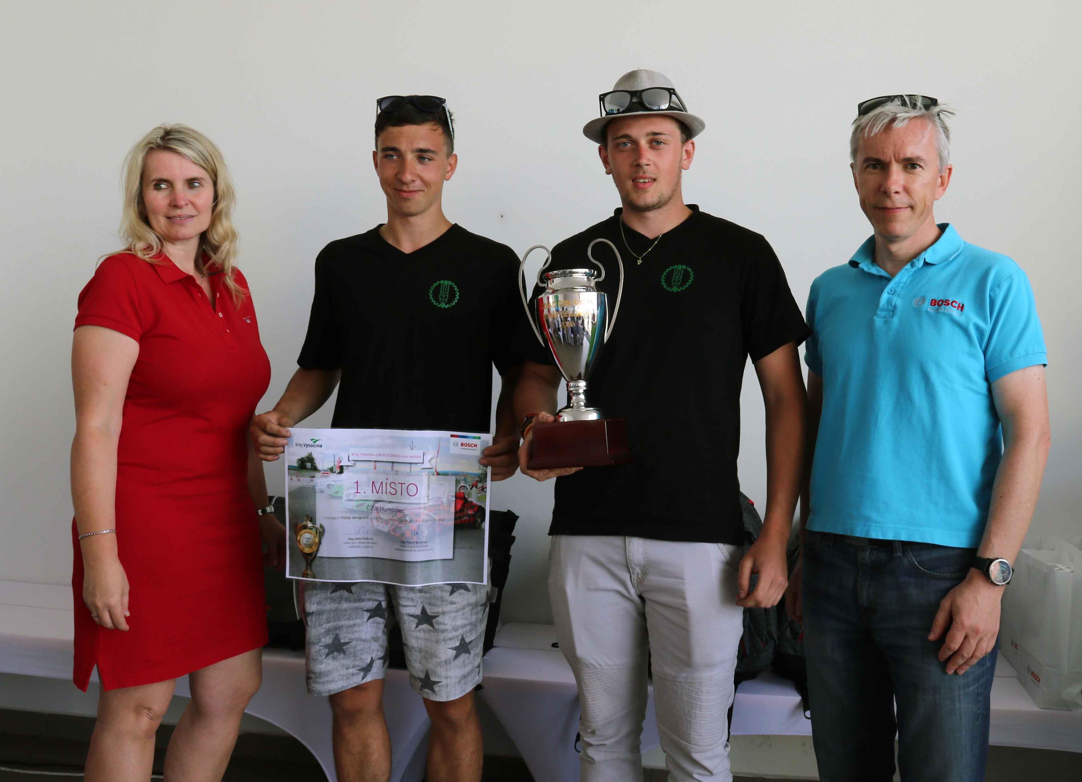 Vítězem Poháru designérů se stala ČZA Humpolec.