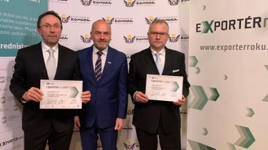 """Bosch získal ocenění v soutěži """"Exportér roku 2019"""""""