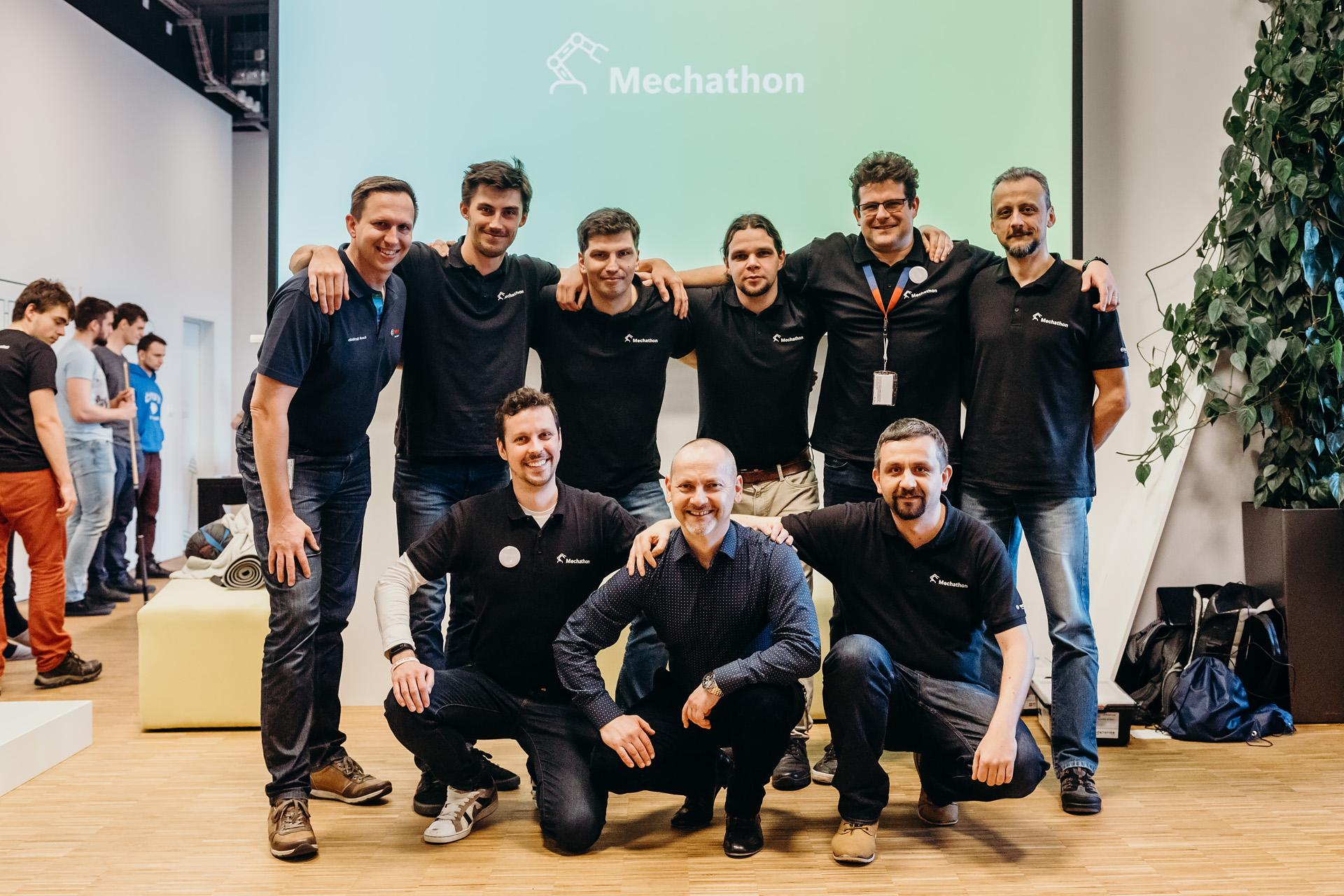 Tým mentorů a zástupců Bosch.