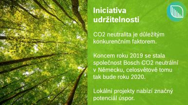 Iniciativa udržitelnosti Bosch