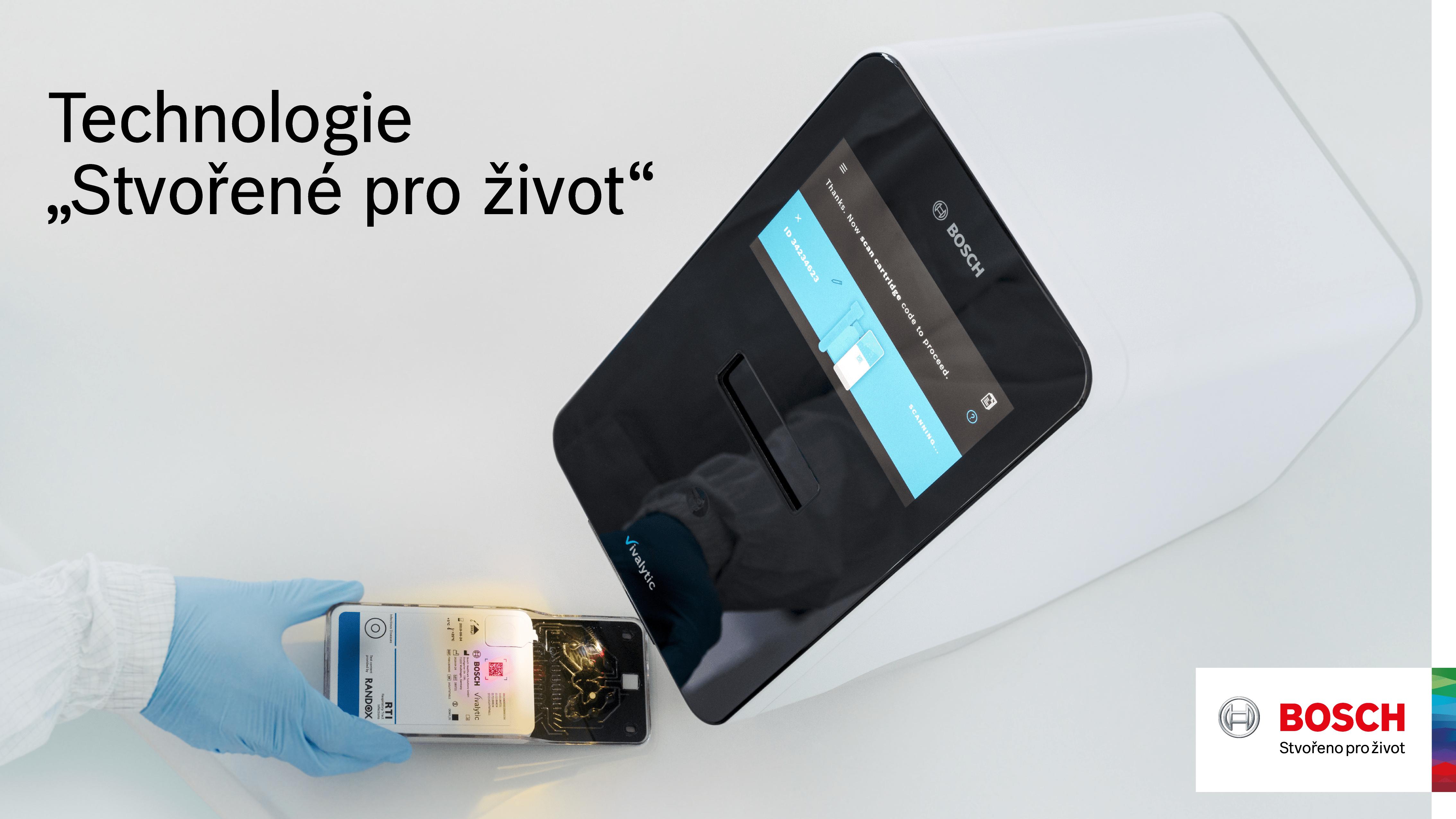 Analyzátor Vivalytic od společnosti Bosch pro testování na nemoc COVID-19